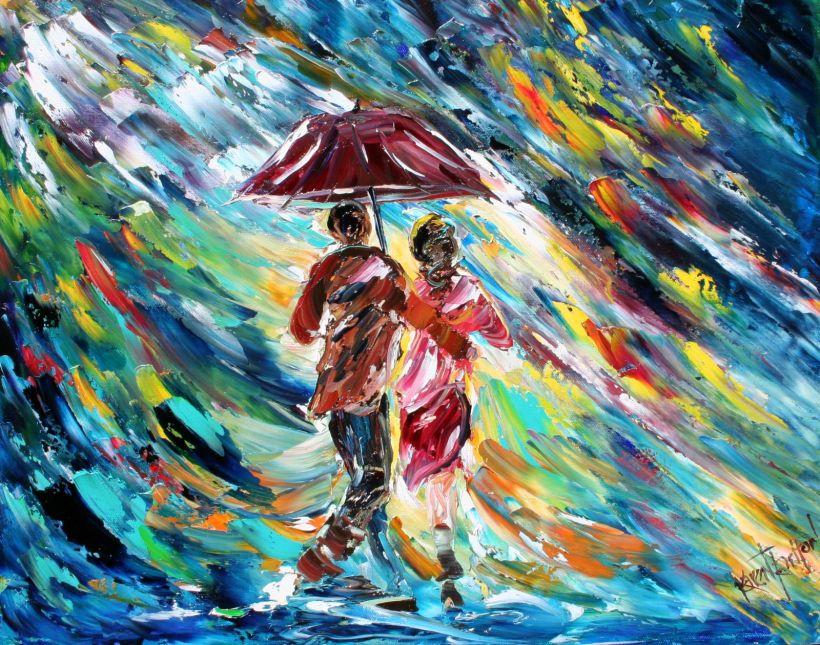 Tarlton Original Oil Painting Abstract Rain art ebay 004i (1).jpg